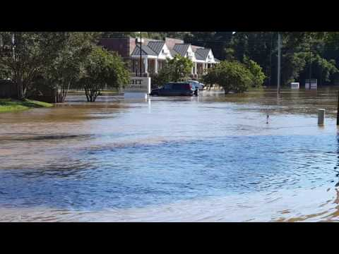 Hurricane Matthew - Rocky Mount, NC - Monday October 10