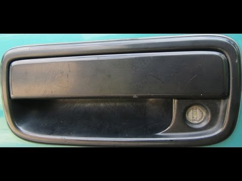 Tacoma Door Handle removal