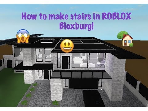 HOW TO MAKE A SECOND FLOOR ON ROBLOX BLOXBURG (easiest)