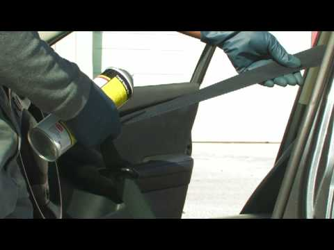 Car Cleaning Tips : How to Clean Car Seat Belts
