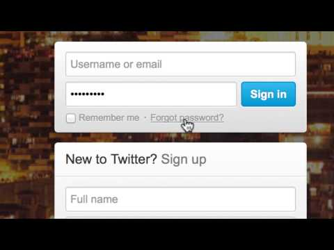 How to Retrieve your Twitter Password.mp4