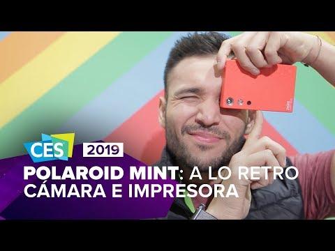 Esta cámara retro de Polaroid imprime tus fotos y cuesta poco