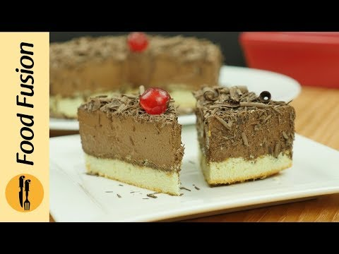 Chocolate Mousse Cake Recipe By Food Fusion