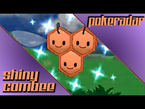 [LIVE] ROUTE 4 Shiny Combee after a 40 Pokeradar Chain!