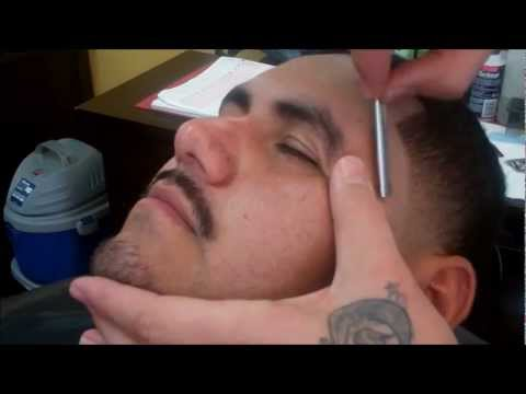 HOW TO USE A STRAIGHT EDGE RAZOR | HD - TIMELESS BARBERS