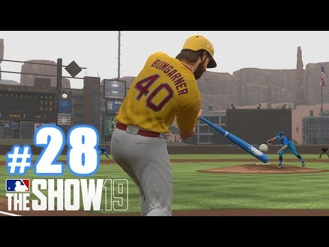 BUMGARNER HITS ONE A MILE! | MLB The Show 19 | Diamond Dynasty #28