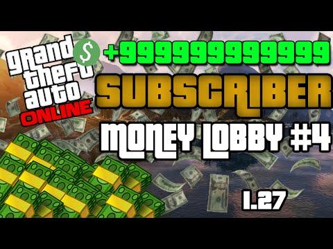 Subscriber Money Lobby #4 GTA 5 PS3