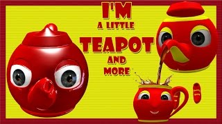 I'm a Little Teapot | Nursery Rhymes | 30 Minutes Compilation from rhymes bus