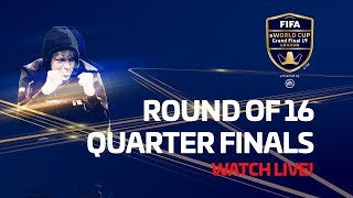 FIFA eWorld Cup 2019™ - Round of 16 & Quarter Finals - Arabic Audio