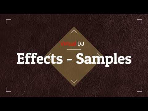 VirtualDJ 8  Pack  Effect - Samples