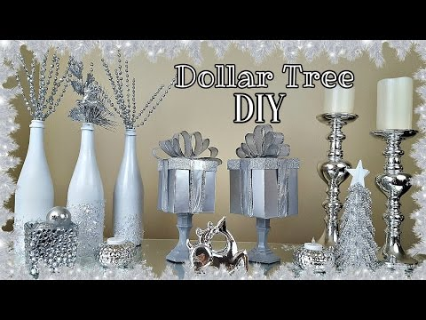 DIY DOLLAR TREE GIFT BOX | CHRISTMAS HOME DECOR CRAFT