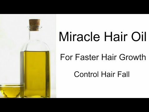 Hair fall will be stop with this miracle oil || Stop premature greying of hair || Diy Channel