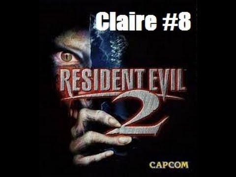 Resident Evil 2 Claire Part 8 Big Moth