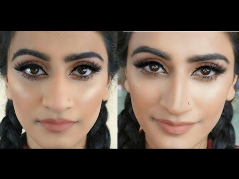 How to Contour A Big Nose | Make your Nose appear Thinner and Shorter