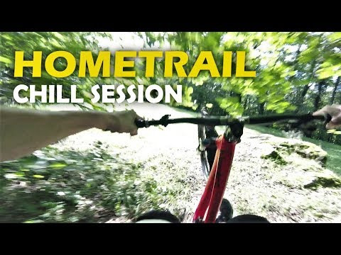 Session Tranquille en VTT DH