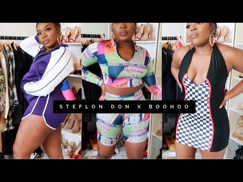STEFFLON DON X BOOHOO COLLAB THICK GWORL APPROVED? | AnnieDrea