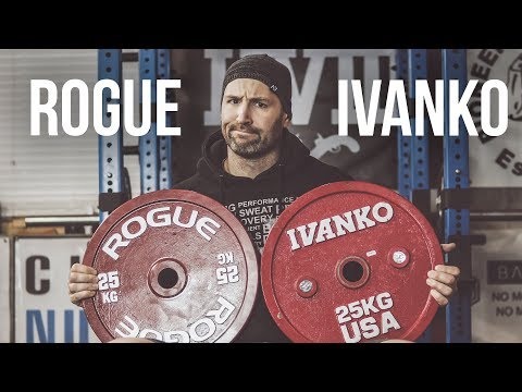 Rogue vs Ivanko Calibrated Competition Plates