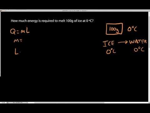 Simple Latent Heat