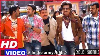 Lingaa Tamil Movie | Back To Back Comedy Scenes II | Rajinikanth | Santhanam | Anushka | Sonakshi