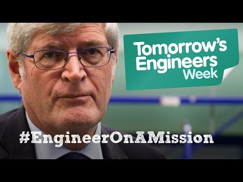Roger from Cardiff University is on a mission to help people get clean water #EngineerOnAMission