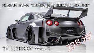 "2000 HP Nissan GT-R ""Super Silhouette Skyline"" By Liberty Walk"