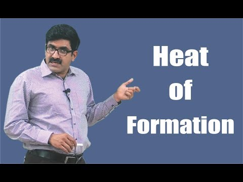 Heat of Formation for XI | XII | JEE-Main | JEE-Advanced