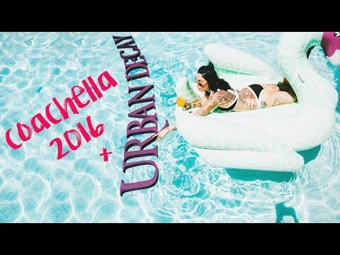 Coachella 2016 + Urban Decay Getaway Weekend Vlog | KristenLeanneStyle