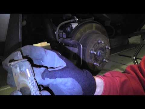 Replace Brake Pads - Nissan Rogue