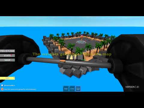 Roblox Weight Lifting Simulator 2 How To Get Bigger Weights Glitch
