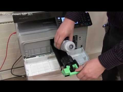 Training | Replacing toner on a Ricoh MP 301, MP 2001, MP 2501 | Ricoh Wiki