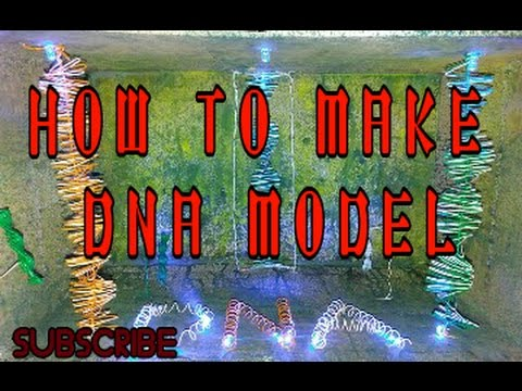 How to make dna model in electric form created by sangam tiwari.