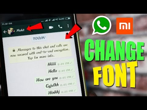 How to Change Font Style in Any Xiaomi Android Phones [Without Root]
