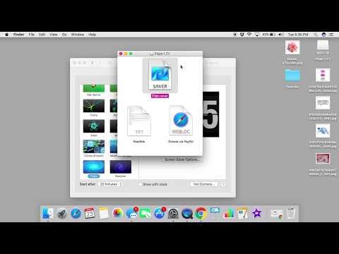 How to Get A Fliping Clock Screensaver Mac & Windows