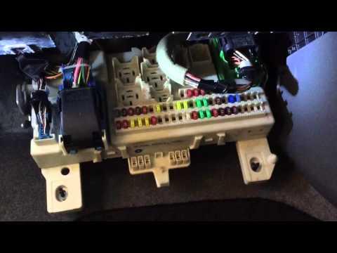 2007 Mazda 3 - Locate Fuse Box & Check Fuse