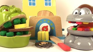 Download Shrek et le Singe Mangent des Tartines et Jouent aux Hand Spinners Video