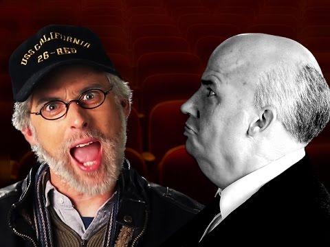 Steven Spielberg vs Alfred Hitchcock.   Epic Rap Battles of History.