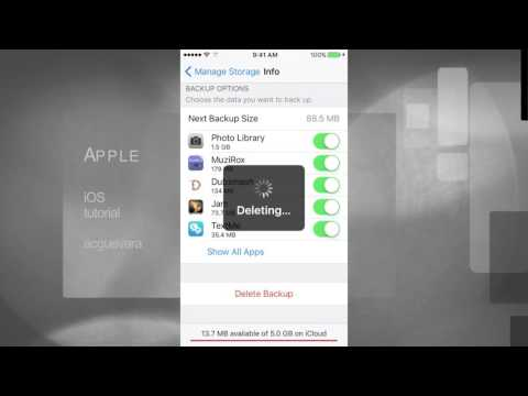 How to Reset iCloud backup storage in iPad air iPad mini iPad 1 2 3 4 iPad Pro