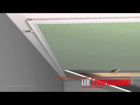 Darklight Design: LED Profilelement SNL Fitting