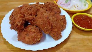 Fried Chicken Recipe   Spicy And Crispy Fried Chicken   Super Crispy Chicken Fry