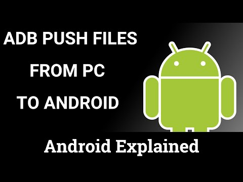 ADB | Copying a File to Android with ADB Push