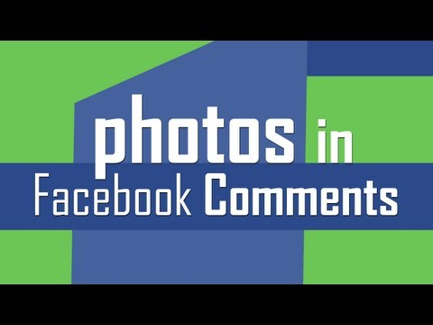 Add & share photos in Facebook Comments
