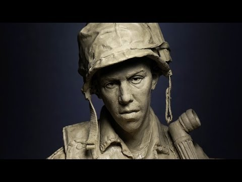 sculpting a head in clay part 1  FULL VIDEO
