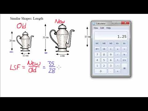 S2: Linear Scale Factor
