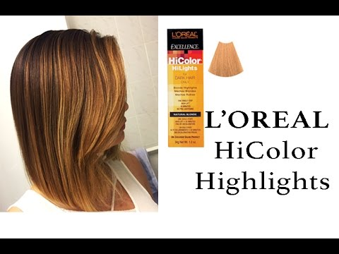 L'Oreal HiColor Highlights - Natural Blonde