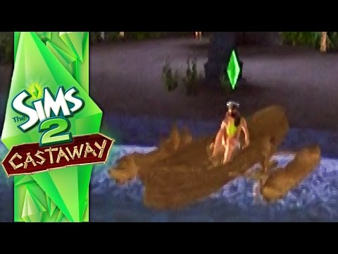 VOLCANIA ISLAND (Sims 2 Castaway PS2 - #6)