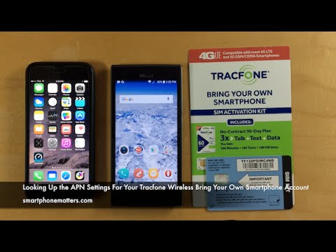 Looking Up the APN Settings For Your Tracfone Wireless Bring Your Own Smartphone Account