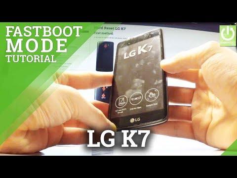 Fastboot Mode in LG K7 - Enter / Quit LG Fasboot