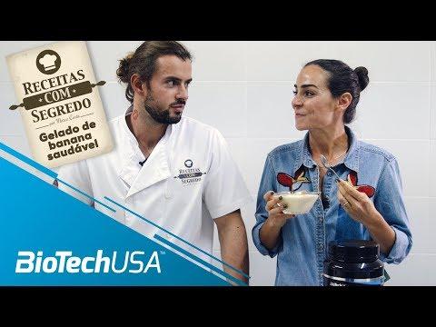 Receitas com segredo por Marco Costa – Gelado de Banana Saudável-BioTechUSA