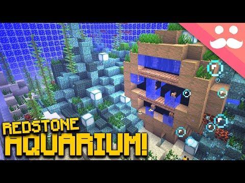 Making the BEST REDSTONE AQUARIUM in Minecraft! [SNAPSHOT!]