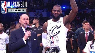 LeBron James FULL MVP SPEECH | 2018 NBA All-Star Game